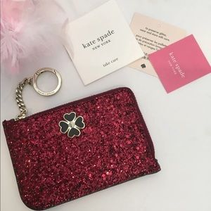 New Kate Spade Keychain Cardholder